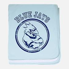 Blue Jays Team Mascot Graphic baby blanket
