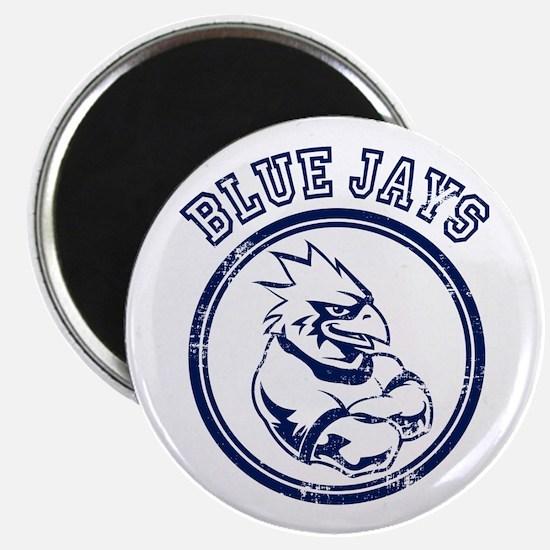 Blue Jays Team Mascot Graphic Magnet