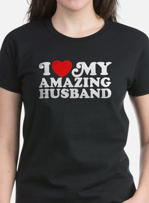 I Love My Amazing Husband Tee