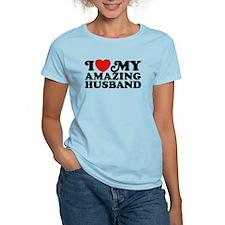 I Love My Amazing Husband T-Shirt