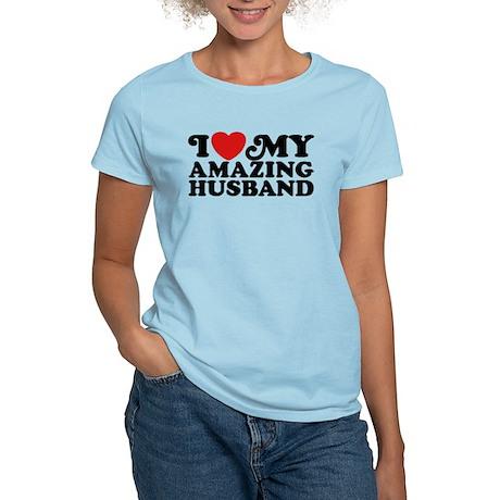 I Love My Amazing Husband Women's Light T-Shirt