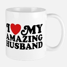 I Love My Amazing Husband Mug