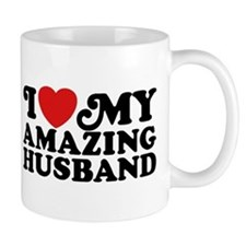 I Love My Amazing Husband Mug