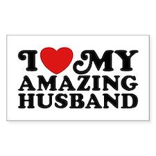 I Love My Amazing Husband Decal