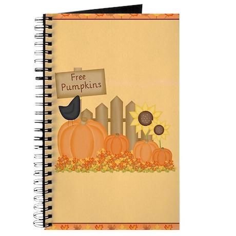 Autumn Pumpkins Journal