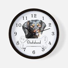 Doxie 2 Wall Clock