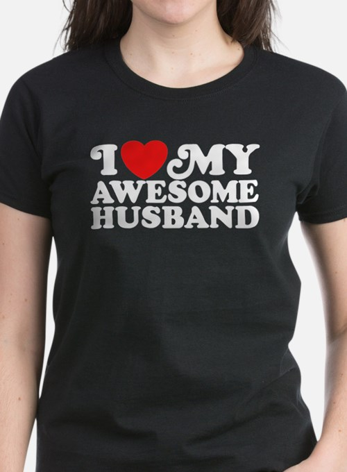 I Love My Awesome Husband Tee