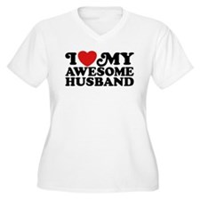I Love My Awesome Husband T-Shirt