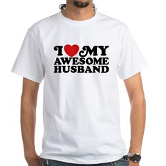 I Love My Awesome Husband Shirt