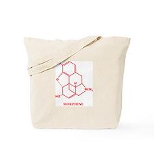Morphine Molecule Tote Bag
