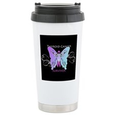 Thyroid Cancer Awareness Ceramic Travel Mug
