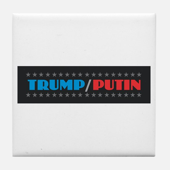 Trump Putin Tile Coaster