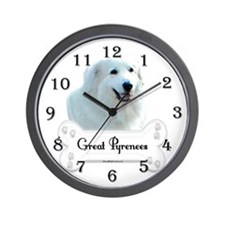 Pyr 1 Wall Clock