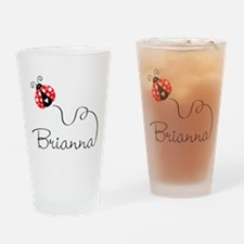 Ladybug Brianna Drinking Glass