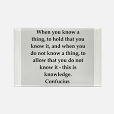 confucius wisdom Rectangle Magnet