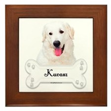 Kuvasz 1 Framed Tile