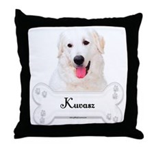 Kuvasz 1 Throw Pillow