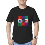 Destination London Olympics Men's Fitted T-Shirt (