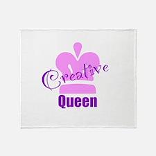 Creative Queen Throw Blanket