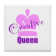 Creative Queen Tile Coaster