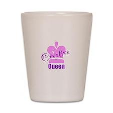 Creative Queen Shot Glass