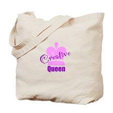 Creative Queen Tote Bag