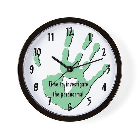 """""""Paranormal"""" Wall Clock"""