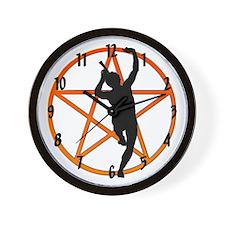 """""""Playful Pan"""" Wall Clock"""