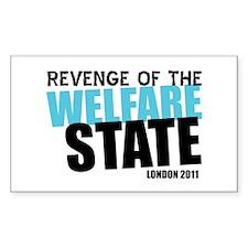 London Welfare State Decal