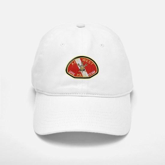 Key West Police Diver Baseball Baseball Cap