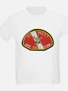 Key West Police Diver T-Shirt