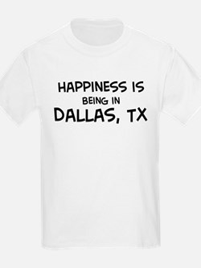 Happiness is Dallas Kids T-Shirt