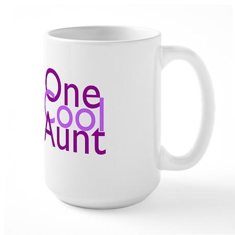 One Cool Aunt Large Mug