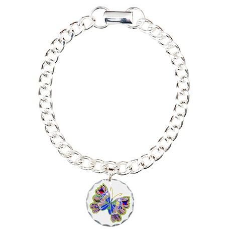 Cosmic Butterfly /Charm Bracelet, One Charm