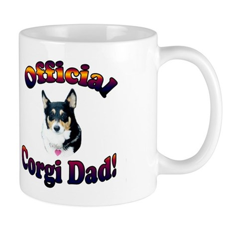 Official Corgi Dad-Mist Mug
