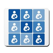 Breastfeeding Symbol Multi Mousepad