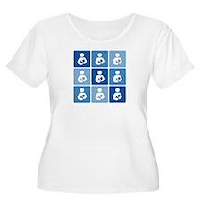 Breastfeeding Symbol Multi T-Shirt