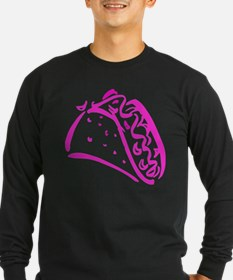 Pink Taco Long Sleeve T-Shirt