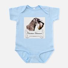 Schnauzer 1 Infant Creeper