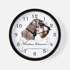 Schnauzer 1 Wall Clock