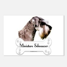 Schnauzer 1 Postcards (Package of 8)