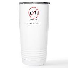 Genesis 1:27 Travel Mug