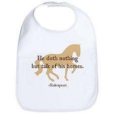 Shakespeare 'talk...horses' quote Bib