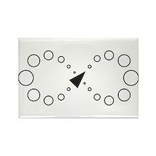 Cute Bubble designs Rectangle Magnet