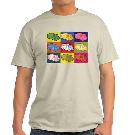 Food Truck Pop Art Light T-Shirt