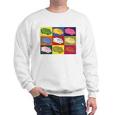Food Truck Pop Art Sweatshirt