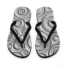 Metallic Circles Flip Flops