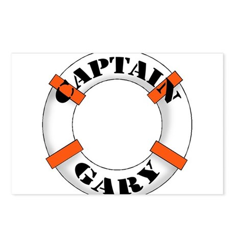 Captain Gary Postcards (Package of 8)