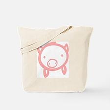 Pig Doodle Tote Bag