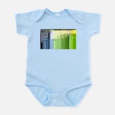 Cute Color bars Infant Bodysuit